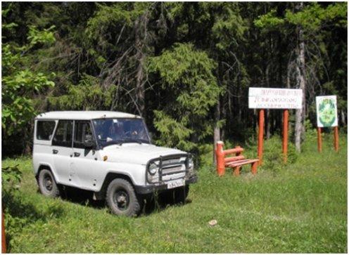 Охрана лесов от незаконных