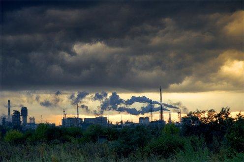 загрязнение атмосферного